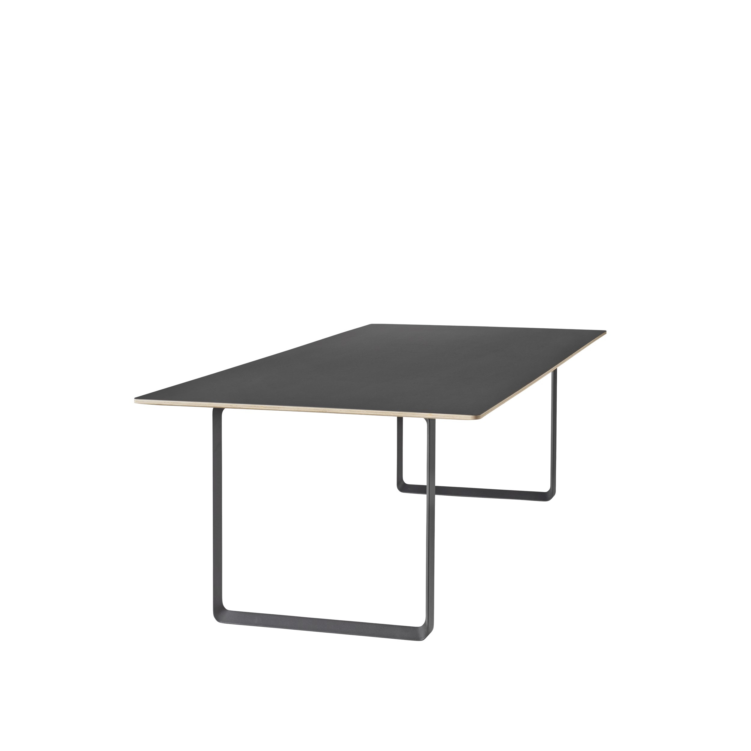 Muuto 70/70 Table 225x90 Black Linoleum