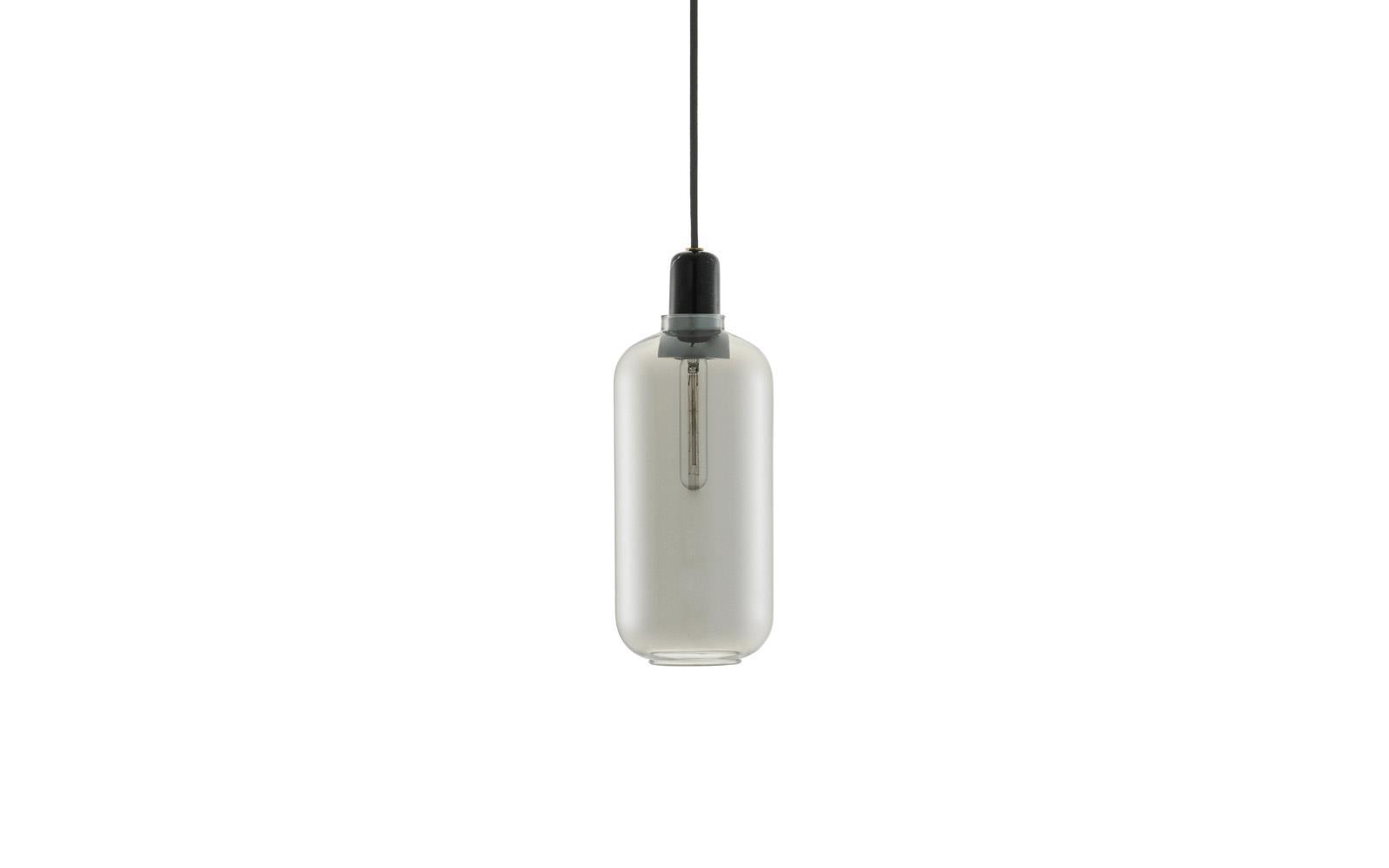 Normann Amp Lamp Grey/Black L
