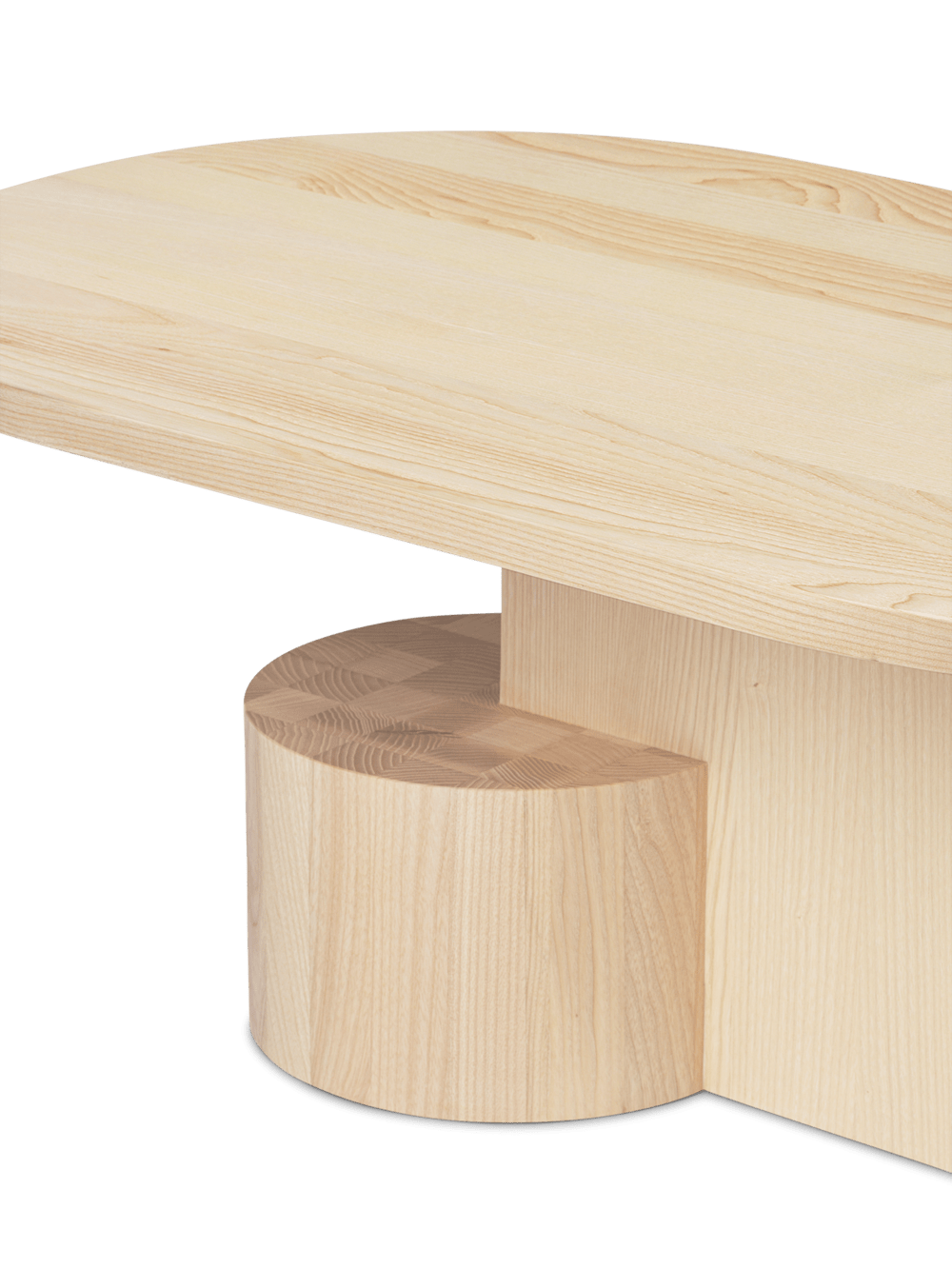Ferm Living Insert Side Coffee table natural ash