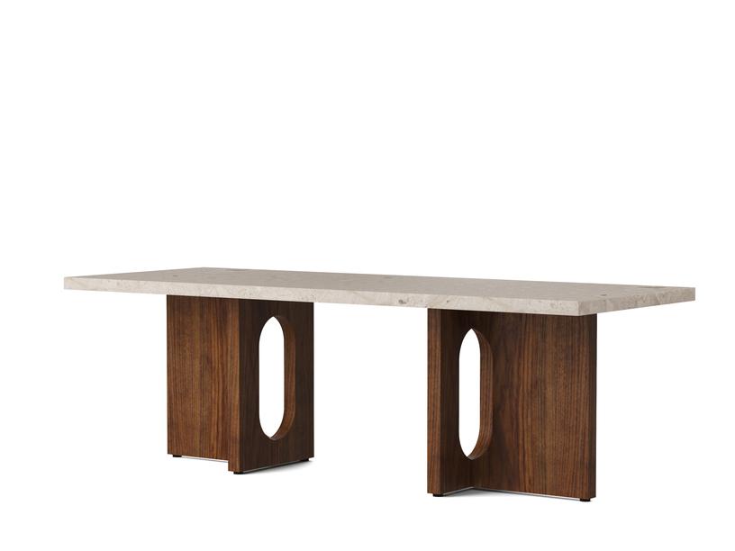 Menu Androgyne Lounge Table Walnut/Stone
