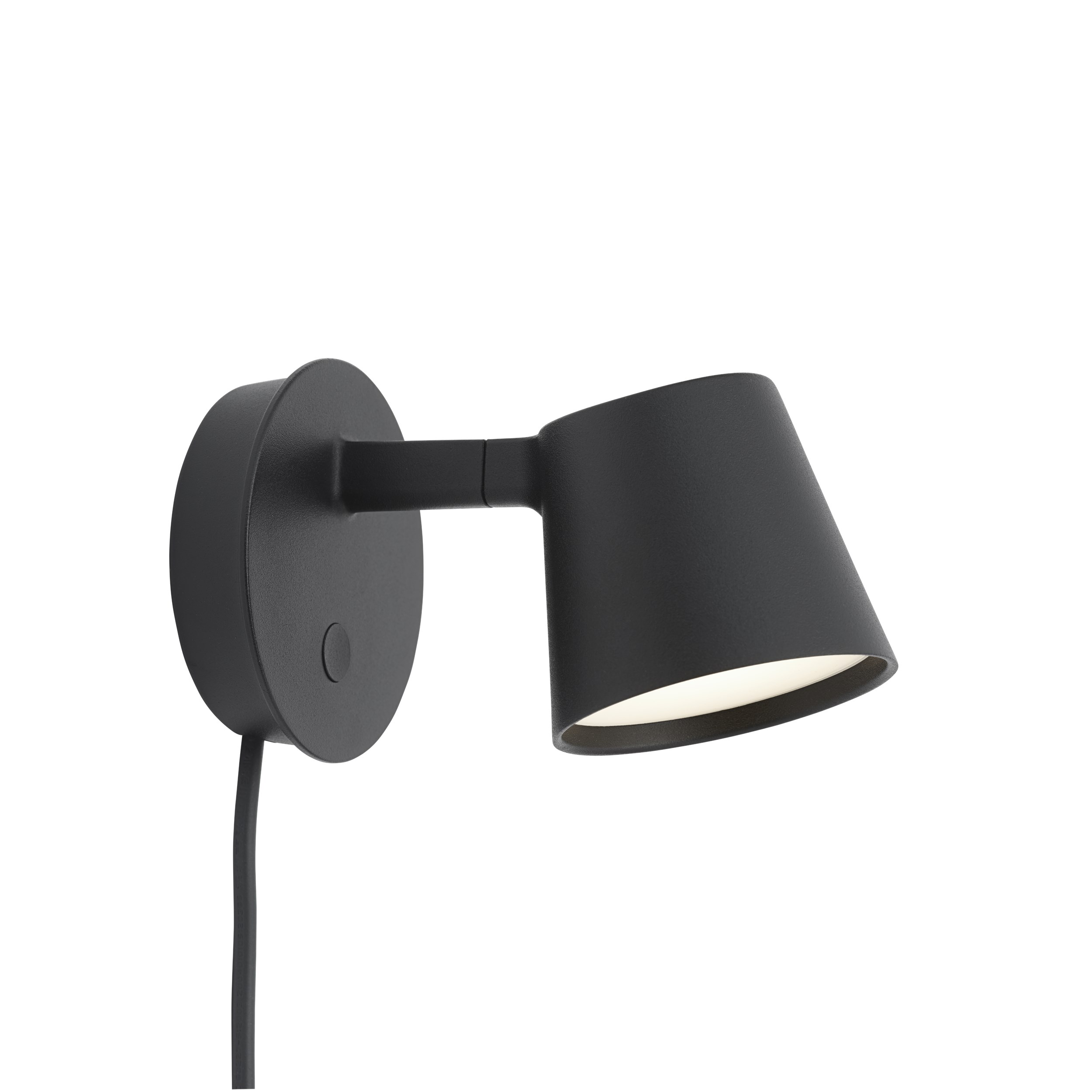 Muuto Tip Wall Lamp Black