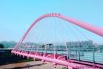 台中のピンクの橋(大坑粉紅情人橋)がピンク好き必見のフォトジェニックスポットなので行ってきたよ