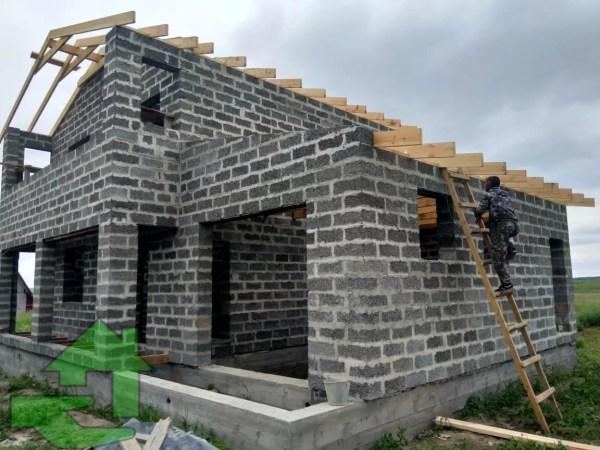 Строительство дома из арболита под ключ: проекты и цены