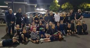 Kedron Cub Scouts Police visit