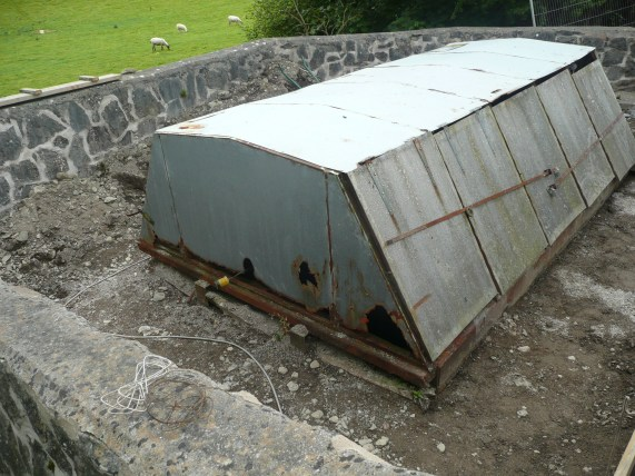Before - Existing unit in need of refurbishment