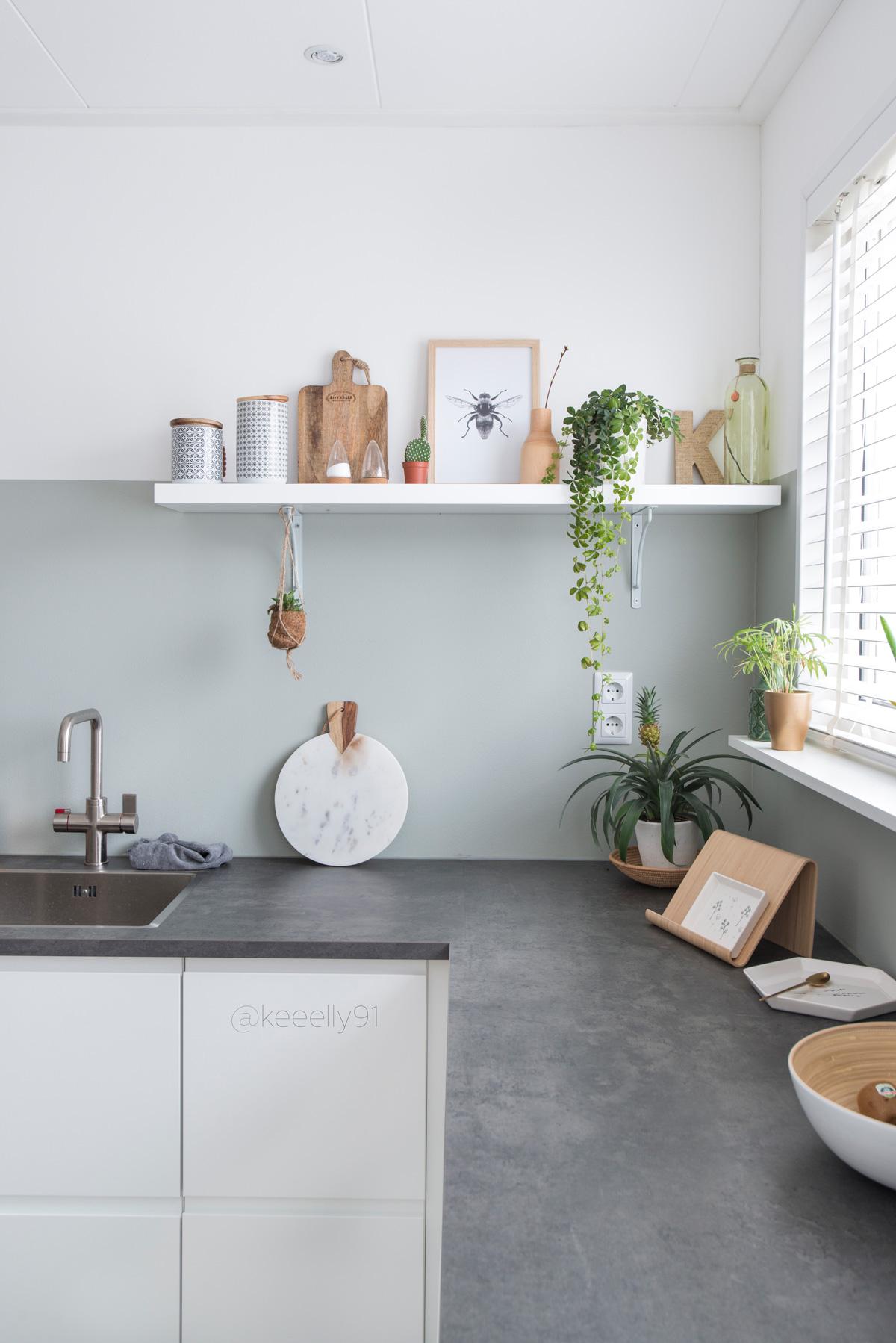 keeelly91 keuken kitchen wit ikea terracotta cactus planten