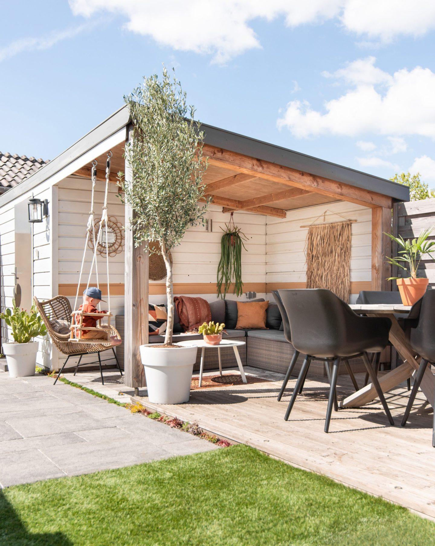 keeelly91 metamorfose overkapping veranda tuin inspiratie buiten garden babyprooi