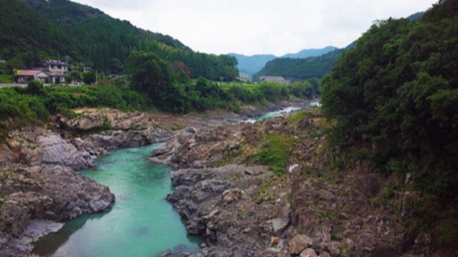 【日高川】和歌山の清流、日高川の釣り場情報と釣れる魚などをご紹介