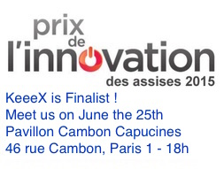 KeeeX Finalist of the Innovation Prize des Assises de la Sécurité