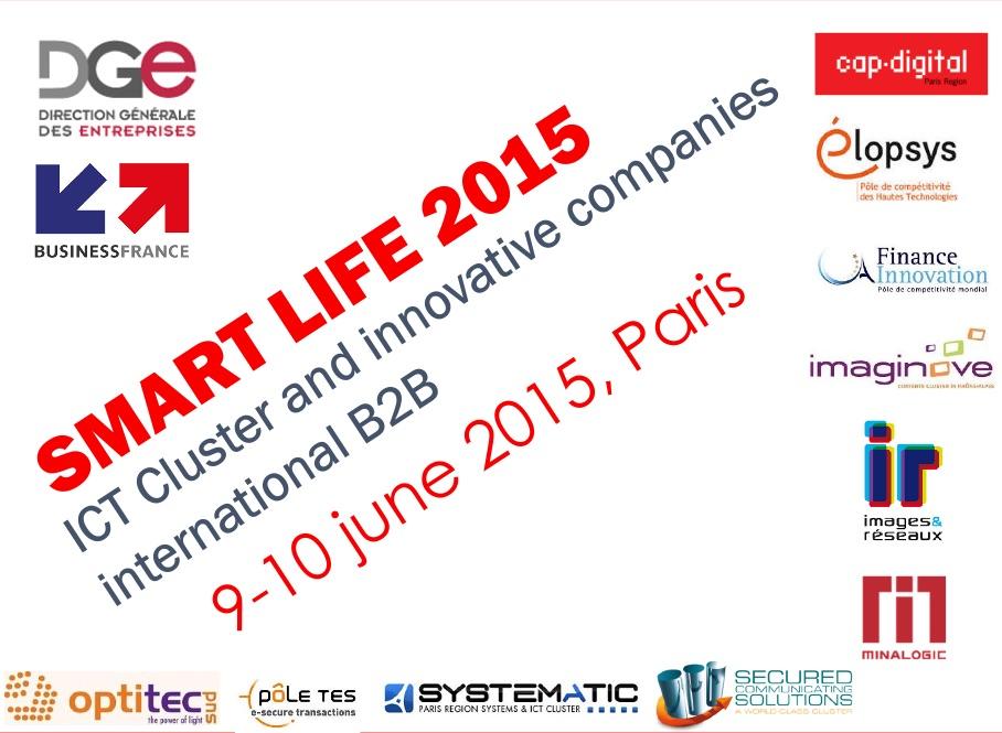 KeeeX was at SmartLife 2015, Paris