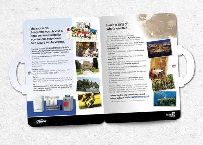 Direct Mail design – Sime/Plumb Center