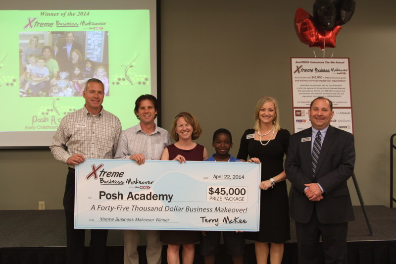 POSH ACADEMY WINS 2014 XTREME BUSINESS MAKEOVER