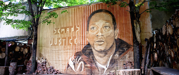 Street Artists Paint Touching Memorial To Kalief Browder