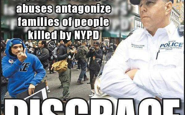 New York Post Calls Protesters Disgraceful Without Revealing Disgraceful Backstory
