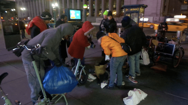 NYC Shut It Down, Clothes For The Homeless