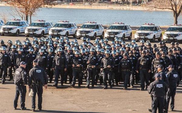 "A Visit With The ""Goon Squad"": Meet The NYPD's Specially Trained Protest Police"