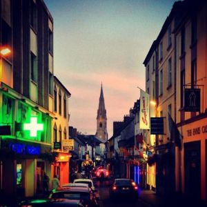 Ennis at night