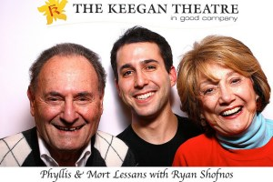 In Good Company: Phyllis and Mort Lessans with Ryan Shofnos