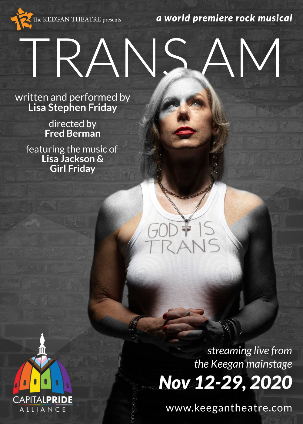 TRANS AM, by Lisa Stephen Friday, directed by Fred Berman. Photo by Ethan Hill.