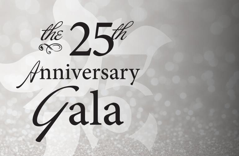 Keegan's 25th Anniversary Gala