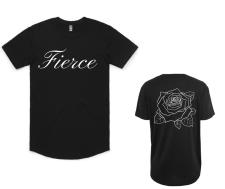 "BLACK ""FIERCE"" T-SHIRT"