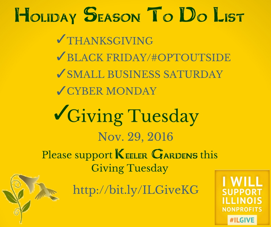 Checklist for the first holiday weekend ending with Giving Tuesday