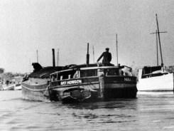 Leaving Yarborough Oil Mills, Brigg in July 1949