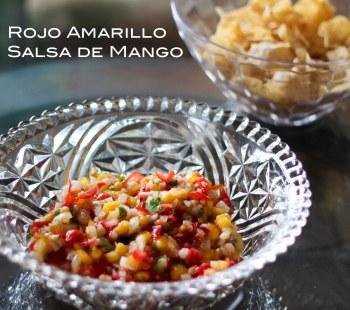 Rojo Amarillo Salsa de Mango