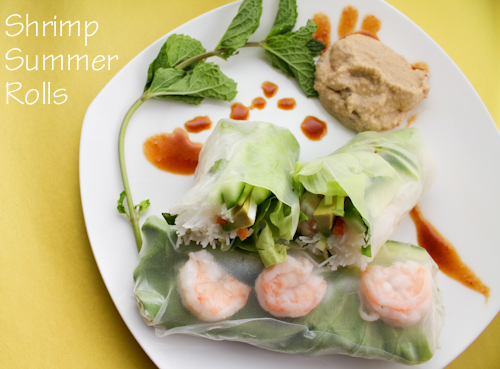 Shrimp Summer Rolls by KeelyMarie on http://www.KeelyMarie.com