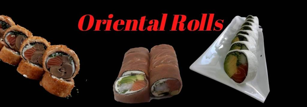 oriental roll-sushi sin arroz