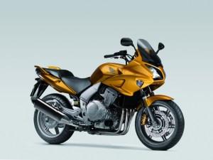 Honda CBF1000A Yellow