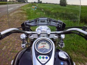 Kawasaki_VN900_steering