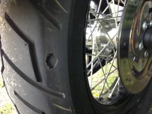 H-D Dyna Street Bob - rear tyre