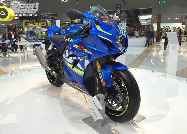 Suzuku GSX-R1000 EICMA