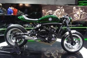 Выставка Motorbeurs 2016  -  Kawasaki Scrambler