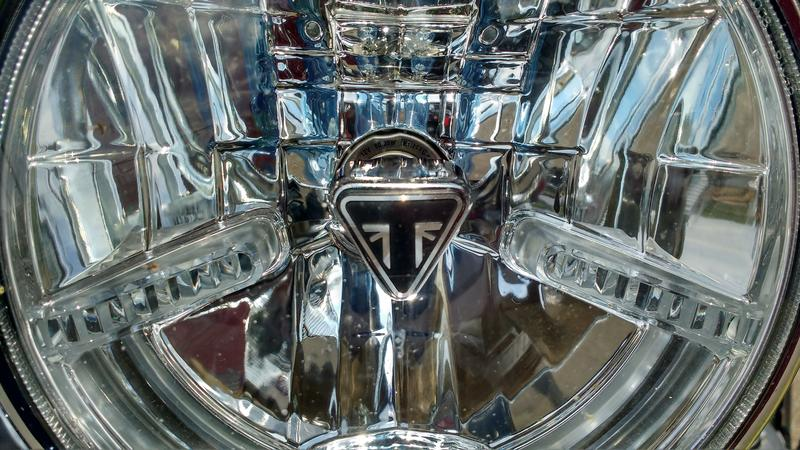 Истинный джентльмен или тест-драйв Triumph Bonneville T120