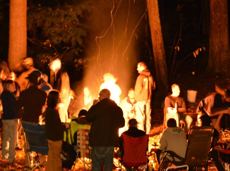 Keenevention 2015 Bonfire
