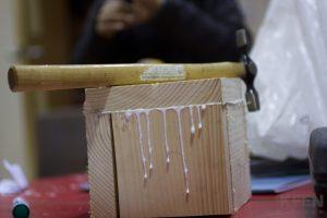 wooden box construction