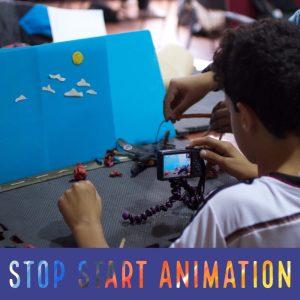Stop start animation poster