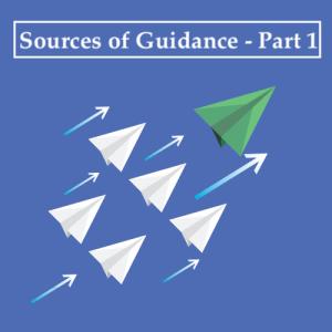 green paper plane leading white paper plane
