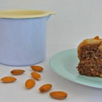 Pear, Chocolate & Almond Cake - Vegan, Sugar and Gluten Free