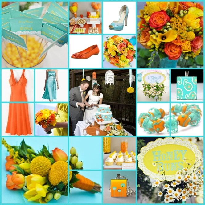 Yellow And Tiffany Blue Wedding At The Hotel Del Coronado Details