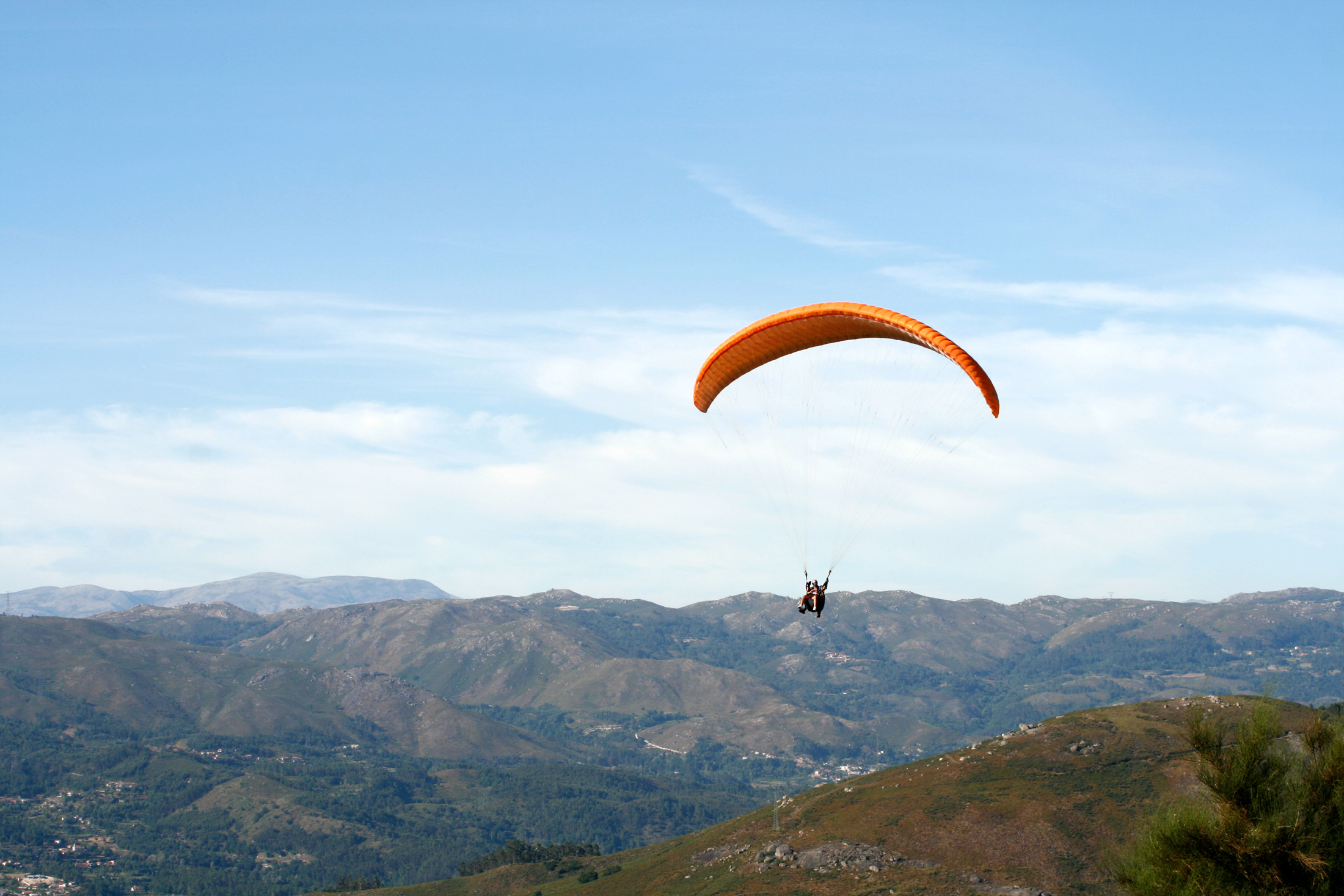 Tandem Paragliding Flight by Keen Tours