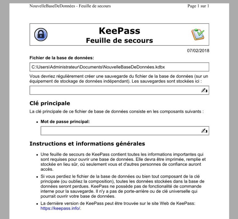 KEEPASS FRANAIS TÉLÉCHARGER EN