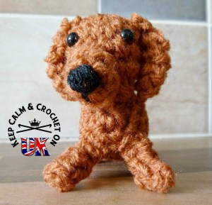 Amigurumi crochet pattern English Manu the dachshund sausage dog ... | 289x300