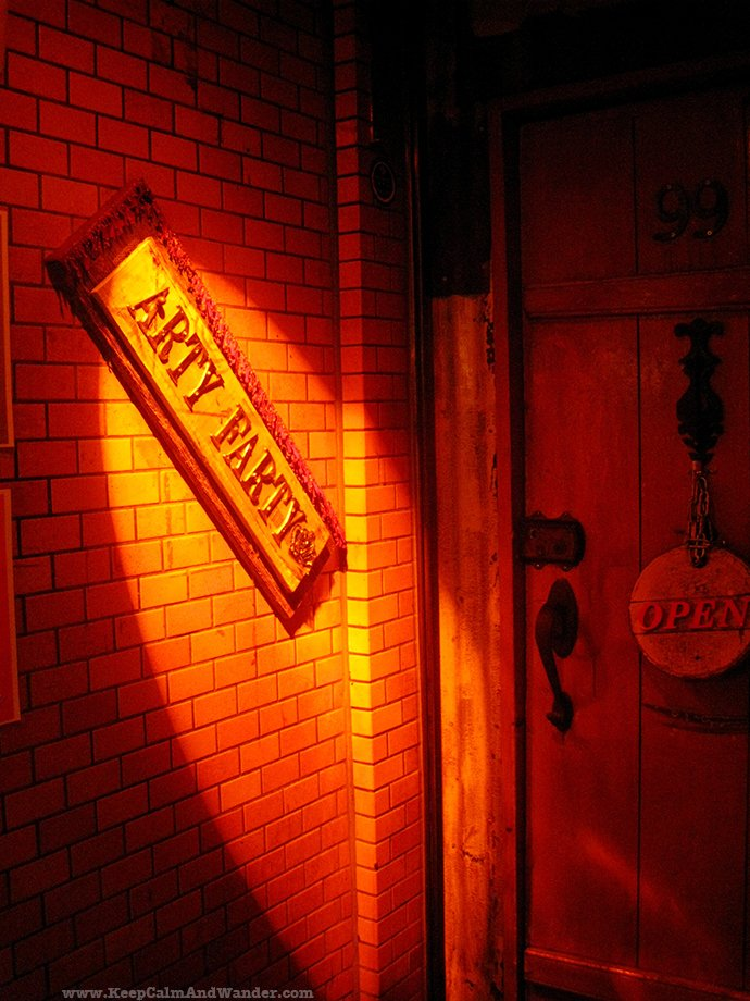Arty Farty is a gay bar in gay Tokyo.