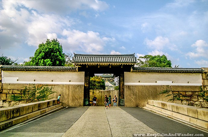 Osaka Castle plays an important role in Japan's history.