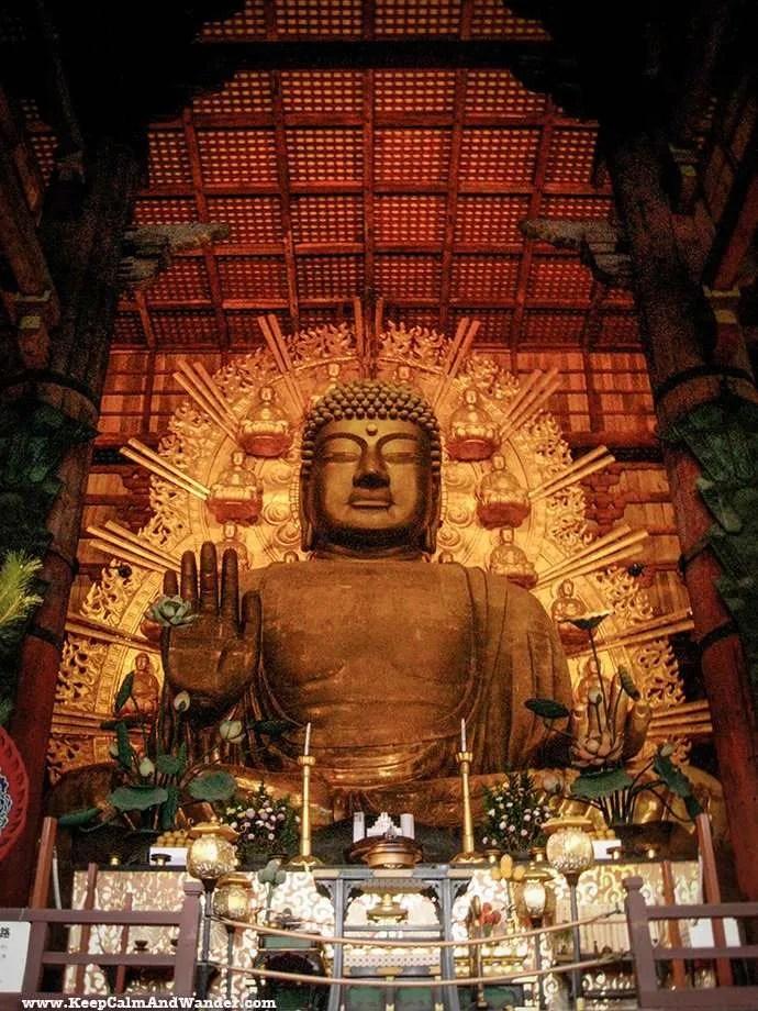 Todai-ji Temple in Nara, Japan.