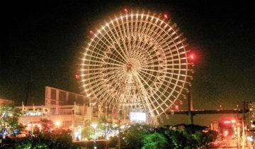 World's Largest Ferris Wheel and Largest Aquarium Tank in Osaka (2009)