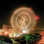 World's Largest Ferris Wheel and Largest Aquarium Tank in Osaka